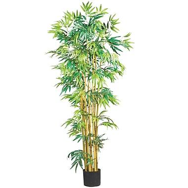 Nearly Natural 5179 5' Bambusa Bamboo Silk Tree in Pot