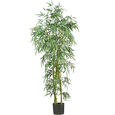 Nearly Natural 5193 6' Fancy Style Bamboo Tree in Pot