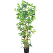 Nearly Natural 5214 6' Bambusa Bamboo Silk Tree in Pot