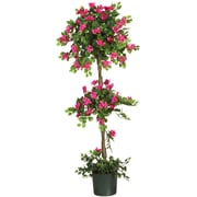 Nearly Natural 5228 5' Mini Bougainvillea Topiary Plant in Pot