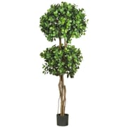 Nearly Natural 5248 Eucalyptus Topiary Tree in Pot