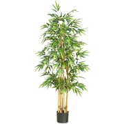 "Nearly Natural 5253 64"" Bamboo Silk Tree in Pot"