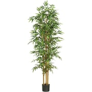 "Nearly Natural 5254 75"" Bamboo Silk Tree in Pot"