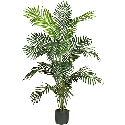 Nearly Natural 5260 6' Paradise Palm Plant in Pot
