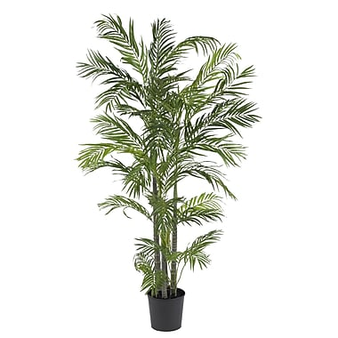 Nearly Natural 5274 5' Areca Silk Palm Tree in Pot