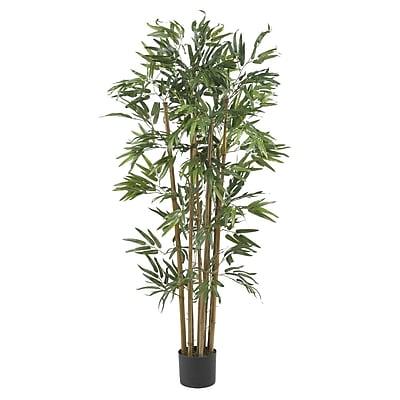 Nearly Natural 5280 4' Multi Bambusa Bamboo Tree in Pot