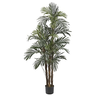 Nearly Natural 5283 5' Robellini Palm Silk Tree in Pot