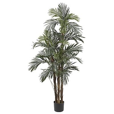 Nearly Natural 5283 5' Robellini Palm Silk Tree in Pot