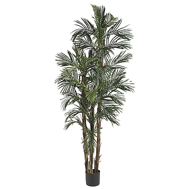 Nearly Natural 5284 6' Robellini Palm Silk Tree in Pot