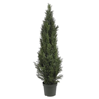 Nearly Natural 5291 5' Cedar Pine Plant in Pot