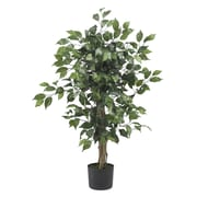 Nearly Natural 5298 3' Ficus Silk Tree in Pot
