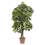 Nearly Natural 5305 4' Schefflera Tree in Pot