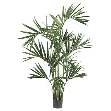 Nearly Natural 5308 6' Kentia Palm Tree in Pot