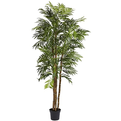 Nearly Natural 5312 6' Bella Palm Silk Tree in Pot