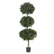 Nearly Natural 5313 Sweet Bay Triple Ball Tree in Pot