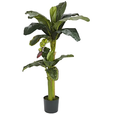 Nearly Natural 5323 Banana Silk Tree in Pot