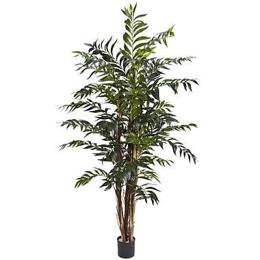 Nearly Natural 5329 5' Bamboo Palm Tree in Pot