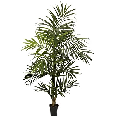Nearly Natural 5335 7' Kentia Palm Silk Tree in Pot
