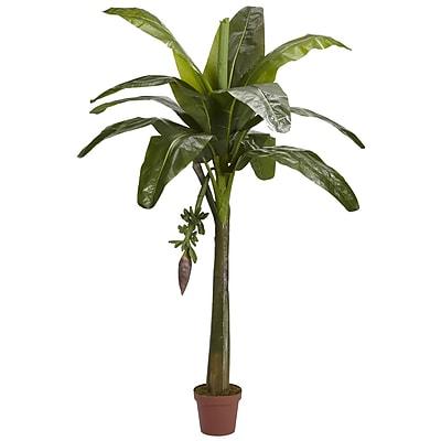 Nearly Natural 5338 6' Banana Tree in Pot