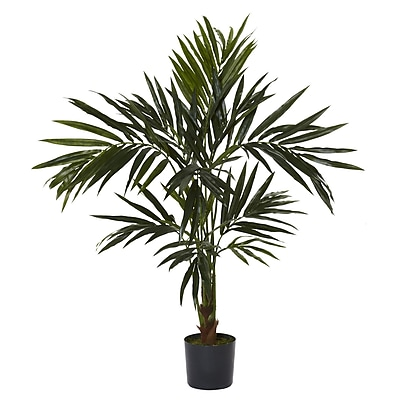 Nearly Natural 5340 5' Kentia Silk Tree in Pot