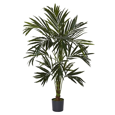 Nearly Natural 5341 6' Kentia Silk Tree in Pot
