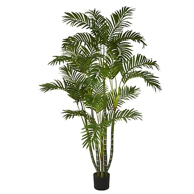 Nearly Natural 5344 5' Areca Silk Tree in Pot
