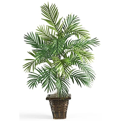 Nearly Natural 6536 Areca Palm Plant in Pot