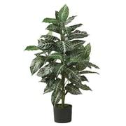 Nearly Natural 6542 3' Zebra Silk Plant in Pot