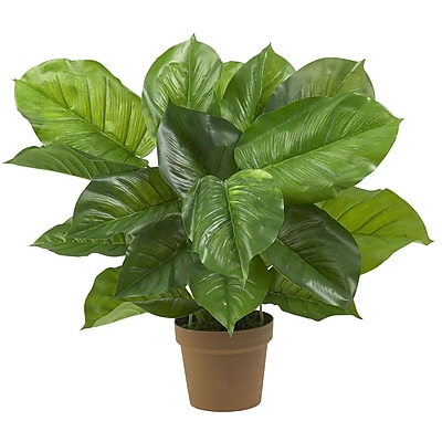 Nearly Natural 6582 Large Philodendron Plant in Pot