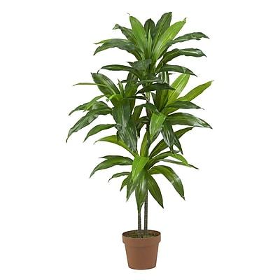 "Nearly Natural 6585 48"" Dracaena Plant in Pot"