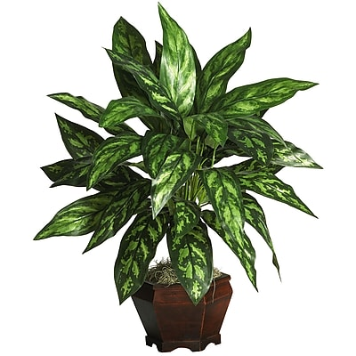 Nearly Natural 6617 Silver King Floor Plant in Decorative Vase
