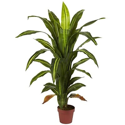 Nearly Natural 6650 4' Dracaena Plant in Pot