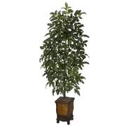 Nearly Natural 6716 Bracken Fern Silk Plant in Pot