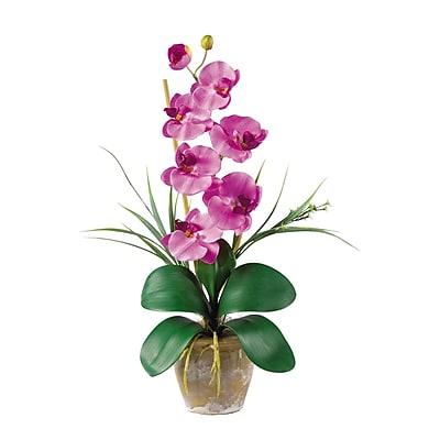 Nearly Natural 1016-MA Phalaenopsis Floral Arrangements, Mauve