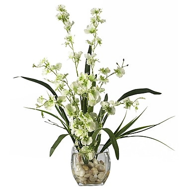 Nearly Natural 1119-GR Dancing Lady Floral Arrangements, Green