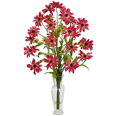 Nearly Natural 1172-RD Cosmos Arrangements, Red