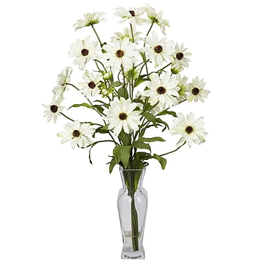 Nearly Natural 1172-WH Cosmos Arrangements, White