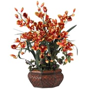 Nearly Natural 1199 Large Cymbidium Floral Arrangements