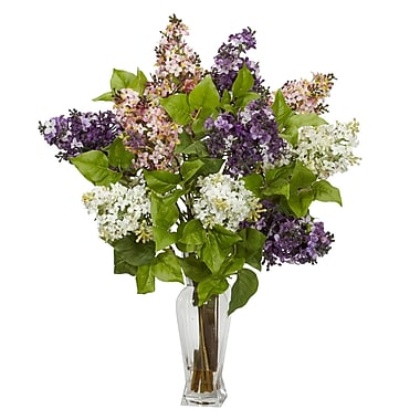 Nearly Natural 1256 Lilac Floral Arrangements