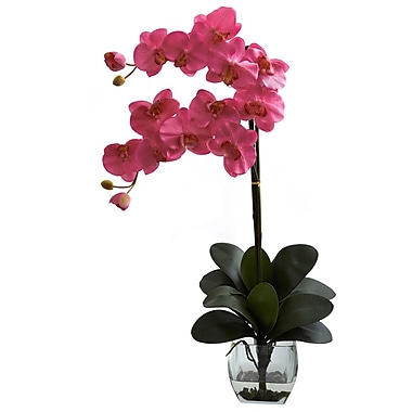 Nearly Natural 1323-DP Double Phal Arrangements, Pink