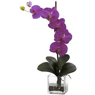 Nearly Natural 1324-OR Giant Phal Floral Arrangements, Orchid pink