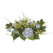 Nearly Natural 4632 Hydrangea Candelabrums, Blue