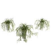 Nearly Natural 4973 Wild Grass Desk Top Plant in Decorative Vase