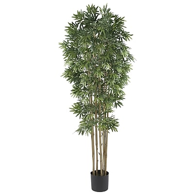 Nearly Natural 5045 6' Bamboo Japanica Tree in Pot