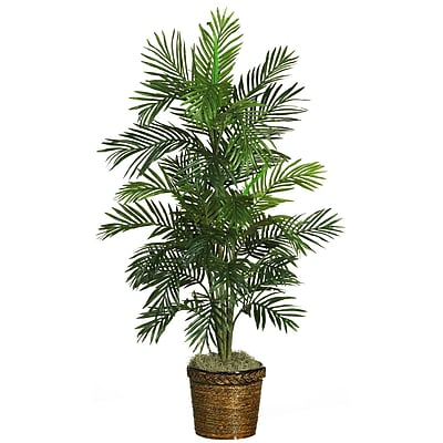 Nearly Natural 5263 Areca Palm Silk Tree in Pot