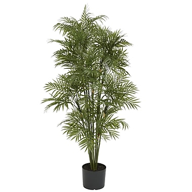 Nearly Natural 5339 4' Plastic Parlour Palm Tree in Pot
