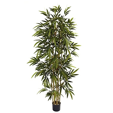 Nearly Natural 5362 6' Bamboo Tree in Pot