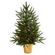 Nearly Natural 5370 Christmas Tree Golden in Planter