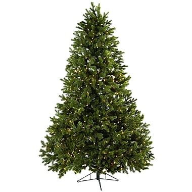 Nearly Natural 5377 Royal Grand Christmas Tree with Stand