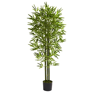 Nearly Natural 5385 5' Bamboo Tree in Pot